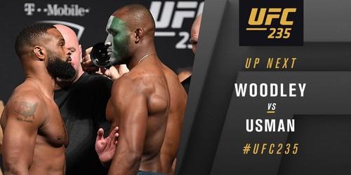 UFC 235. Камару Усман завоевал титул в полусреднем весе