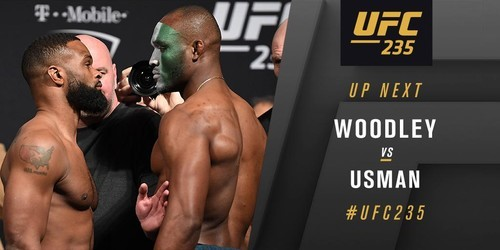 UFC 235. Тайрон Вудли – Камару Усман. Видео боя
