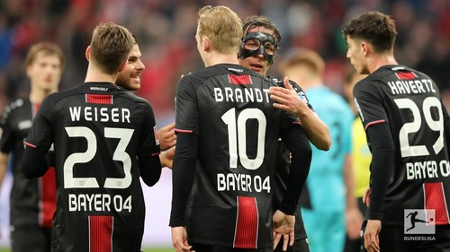 Байер — Фрайбург - 2:0. Видео голов и обзор матча