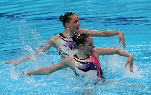 Украинские синхронистки завоевали золото на соревнованиях в Париже