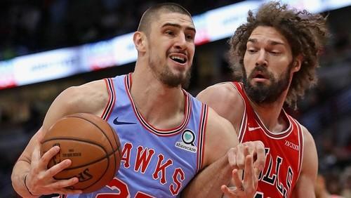 НБА. 28 очков Лэня помогли Атланте обыграть Чикаго