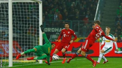 На счету Баварии – рекордные 4000 забитых мячей в Бундеслиге
