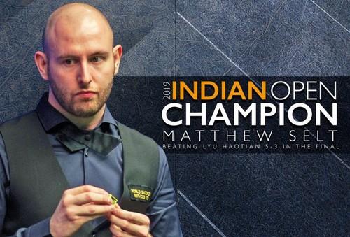 Видео. Мэттью Селт выиграл первый рейтинговый титул