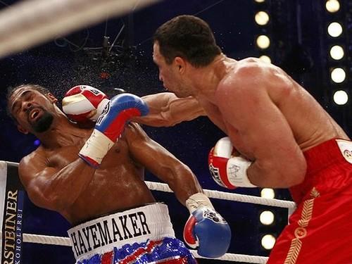 Точные удары Кличко были одними из самых высокооплачиваемых в истории
