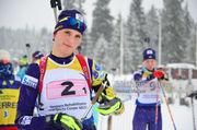ЮЧЕ-2019 по биатлону. Кривонос заняла 5-е место в индивидуальной гонке