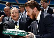 Разборки в Реале: Серхио Рамос повздорил с Флорентино Пересом