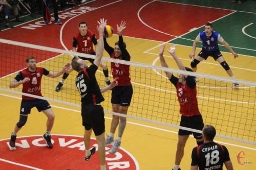 Завершился групповой этап мужской волейбольной Суперлиги