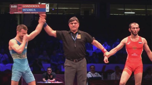 Андрей Яценко стал чемпионом Европы U-23 по вольной борьбе