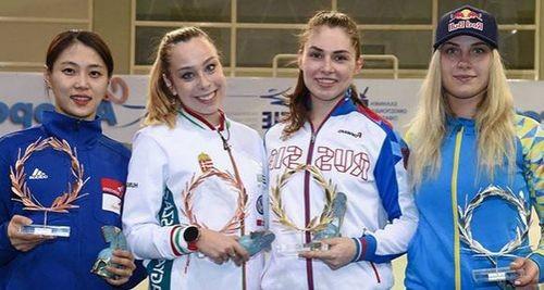 Харлан завоевала серебро на этапе Кубка мира в Афинах