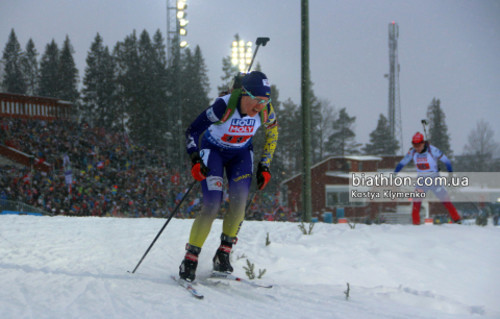 ЧМ-2019 по биатлону. Меркушина финишировала 15-й в гонке преследования
