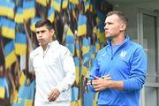 Збірна України провела відкрите тренування перед грою зі Словаччиною