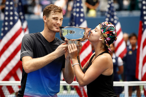 US Open. Маттек-Сэндс и Джейми Маррей - победители турнира в миксте