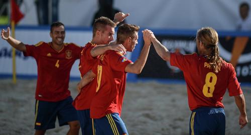Пляжный футбол. Финал. Испания - Италия. Смотреть онлайн. LIVE