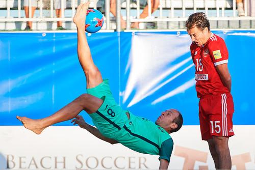 Пляжный футбол. Португалия героически забрала у россиян бронзу