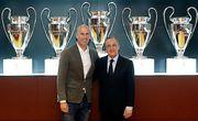 Реал Мадрид. Зинедин Зидан и Флорентино Перес