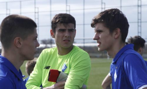 Вратарь Динамо U-19 Моргун: «Нещерету стало плохо и выпустили меня»
