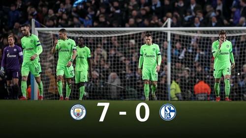 Шальке устроил распродажу после 0:7 от Манчестер Сити