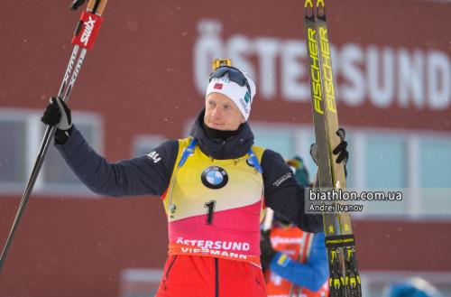 Йоханнес Бё завоевал малый Хрустальный глобус в индивидуальных гонках