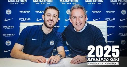 ОФИЦИАЛЬНО. Бернарду Силва в Манчестер Сити до 2025 года