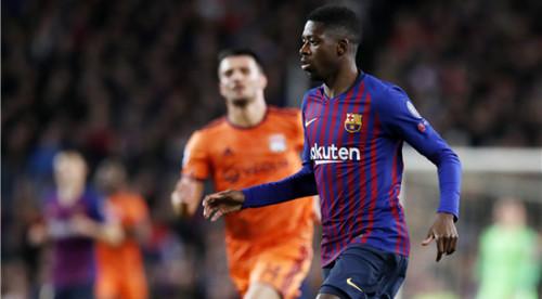 Барселона осталась без Дембеле на 3-4 недели