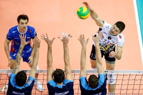 Состоялись первые четвертьфинальные матчи мужской Лиги чемпионов
