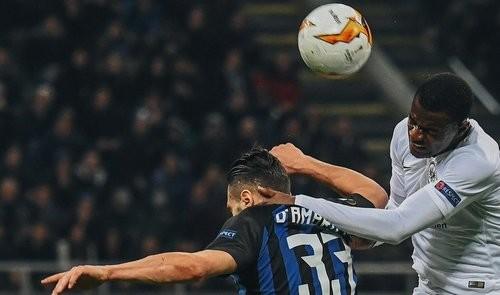 Интер — Айнтрахт — 0:1. Видео гола и обзор матча