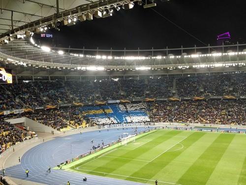Киевское Динамо поблагодарило фанатов за рекорд посещаемости