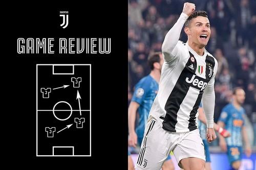 Роналду - игрок недели в Лиге чемпионов