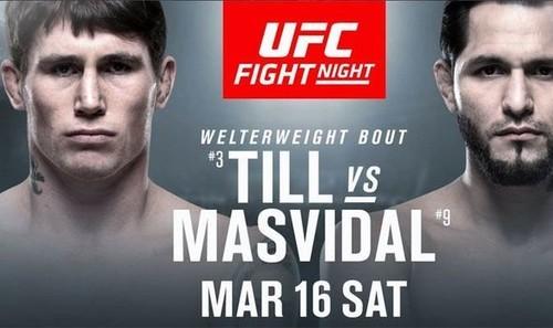 UFC Fight Night 147: Тилл и Масвидаль показали равный вес