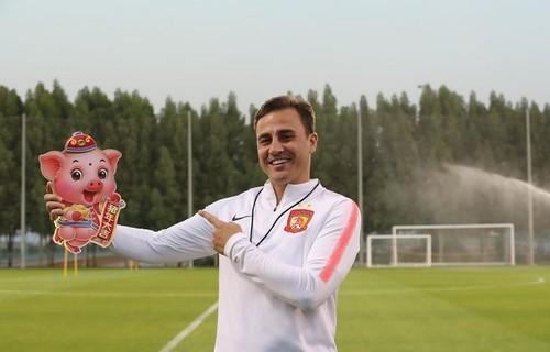 Каннаваро возглавил сборную Китая