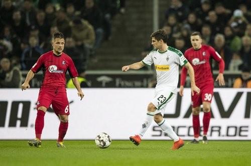 Боруссия Менхенгладбах — Фрайбург — 1:1. Видео голов и обзор матча