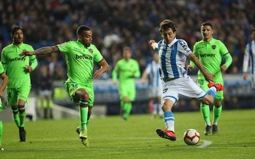 Реал Сосьедад — Леванте — 1:1. Видео голов и обзор матча