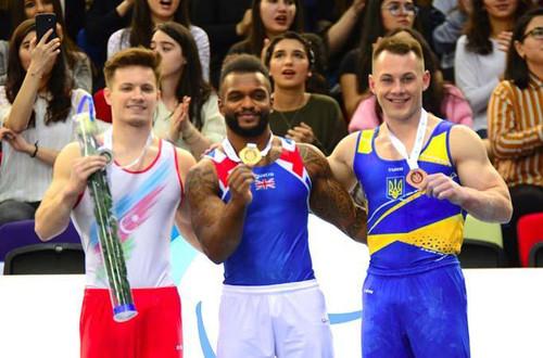 Игорь Радивилов выиграл бронзу на этапе Кубка мира в Баку