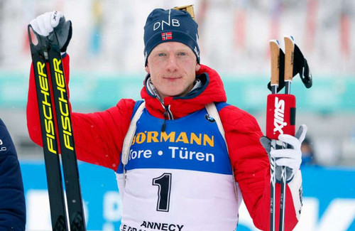 Йоханнес Бё повторил рекорд Бьорндалена и Фуркада