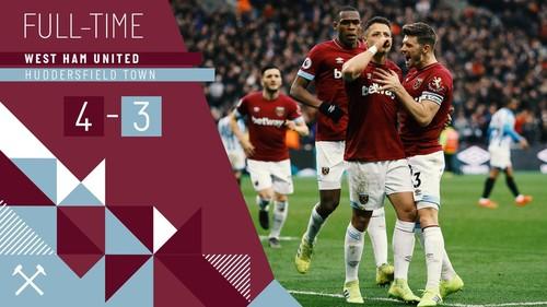 Вест Хэм Юнайтед — Хаддерсфилд Таун - 4:3. Видео голов и обзор матча