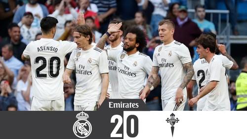 Реал — Сельта - 2:0. Видео голов и обзор матча
