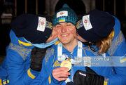 Украинский биатлон. Вита Семеренко, Дмитрий Пидручный и Валя Семеренко