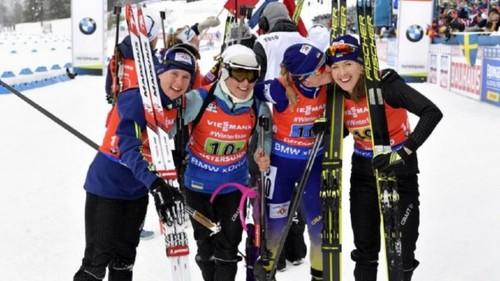 Бронза украинской сборной в эстафете и победа Шахтера над Зарей