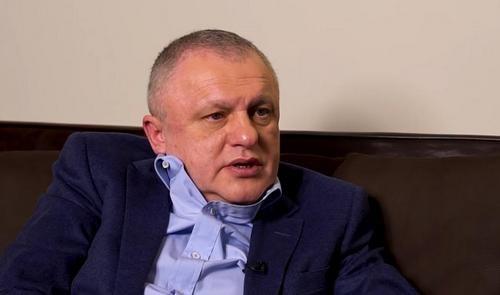 Игорь СУРКИС: «Не обсуждаю отставку Хацкевича. Он работает»