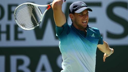 Доминик Тим обыграл Роджера Федерера в финале турнира в Индиан-Уэллс