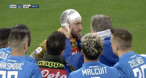 Оспина потерял сознание во время матча с Удинезе