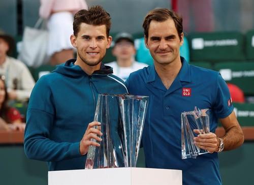 Тим – пятый теннисист, который ведет в противостоянии с Федерером