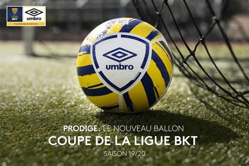 Новый мяч Кубка французской лиги презентован публике
