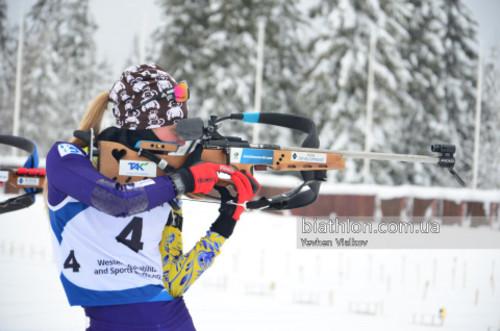 ЧУ-2019 по биатлону. Валерия Дмитренко выиграла индивидуальную гонку
