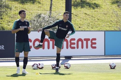 ВИДЕО. Роналду провел тренировку со сборной Португалии
