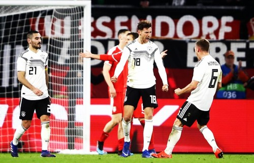 Германия не смогла обыграть Сербию в товарищеском матче