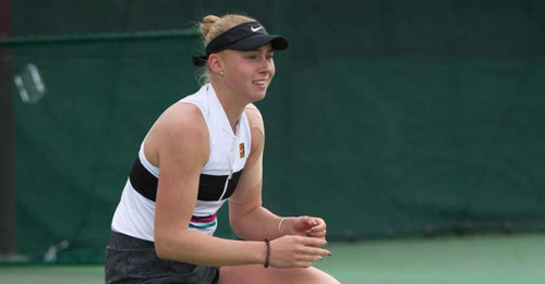 Как Лопатецкая в четвертьфинал турнира в Кофу выходила