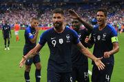 Франция отпраздновала победу на ЧМ-2018