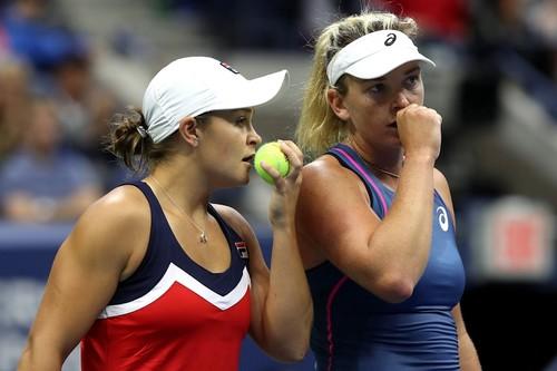 US Open. Барти и Вандевей выиграли парный турнир