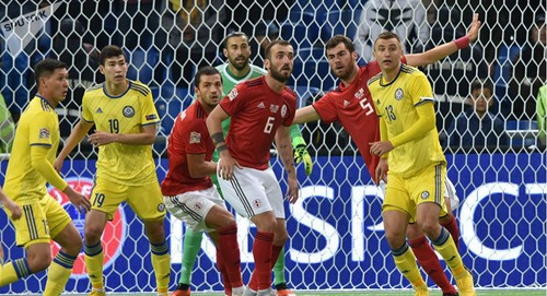 Грузия — Латвия - 1:0. Видео гола и обзор матча